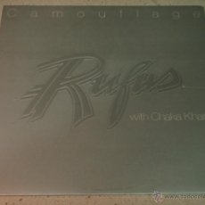 Discos de vinilo: RUFUS WITH CHAKA KHAN ( CAMOUFLAGE ) CALIFORNIA-USA 1980 LP33 MCA RECORDS. Lote 54459866