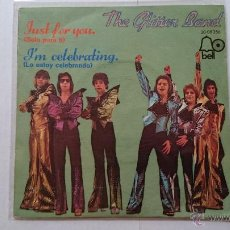 Discos de vinilo: THE GLITTER BAND (GLAM) - JUST FOR YOU / I'M CELEBRATING (1974). Lote 54465895