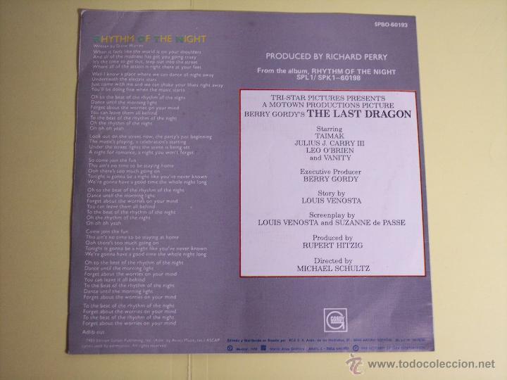 single debarge (rhythm of the night - el ritmo - Buy Vinyl Singles Pop-Rock  International of the 80s at todocoleccion - 54470597