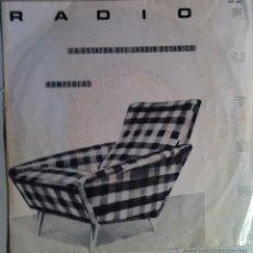 Discos de vinilo: RADIO FUTURA. LA ESTATUA DEL JARDÍN BOTÁNICO - ROMPEOLAS. 1982. Lote 54470612