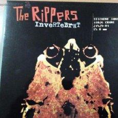 Discos de vinilo: THE RIPPERS INVERTEBRÄT LP INSERTO. Lote 54470743