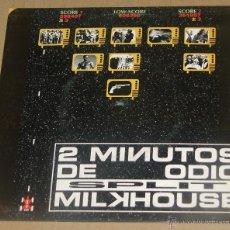 Discos de vinilo: 2 MINUTOS DE ODIO - MILKHOUSE. Lote 54482073