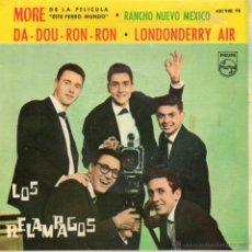 Discos de vinilo: RELAMPAGOS, EP, MORE + 3, AÑO 1963. Lote 54482476
