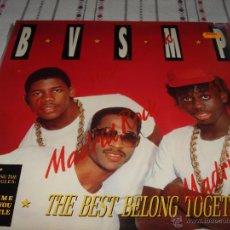 Discos de vinilo: B.V.S.M.P. (THE BEST BELONG TOGETHER). Lote 54489065