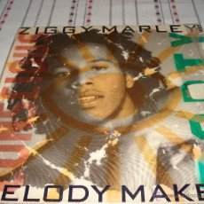 Discos de vinilo: ZIGGY MARLEY & THE MELODY MAKERS CONSCIOUS PARTY LP 1988. Lote 54489093