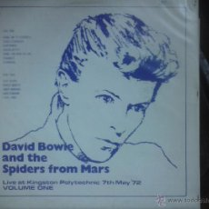 Discos de vinilo: DAVID BOWIE LIVE AT KINGSTON POLYTECHNIC 1972 .. Lote 54494330