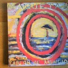 Discos de vinilo: MAQUETAS. TABLON DE ANUNCIOS. Lote 54495367