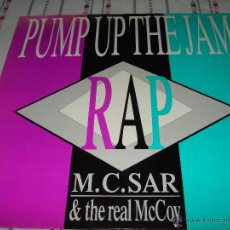 M.C. SAR & THE REAL MCCOY - PUMP UP THE JAM