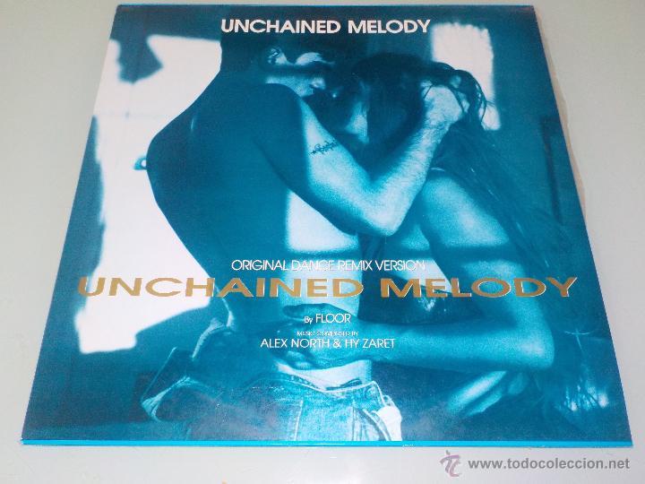 FLOOR .- UNCHAINED MELODY.- SELLO BLANCO Y NEGRO.- MAXI SINGLE 12¨-1991 (Música - Discos de Vinilo - Maxi Singles - Otros estilos)