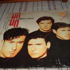 Discos de vinilo: QUN QUN DE CARNE Y HUESO. Lote 54496809
