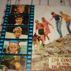 Discos de vinilo: LOS CINCO SE VEN EN APUROS. Lote 54498493