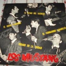Discos de vinilo: LOS MUSTANG - EL RITMO DEL SILENCIO. Lote 54498931