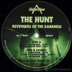 Discos de vinilo: THE HUNT - REVENGERS OF THE DARKNESS - 2014 - LIMITED EDITION. Lote 54499506