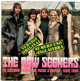 Discos de vinilo: THE NEW SEEKERS- Id like to teach the world to sing + Boom town - SG 1972 - Foto 2 - 54500350