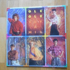 Discos de vinilo: OLE OLE VOY A MIL, LP. Lote 54502293