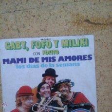 Discos de vinilo: DISCO DE LOS FAMOSOS PAYASOS DE TVE 1 AÑO 1974. Lote 50995540