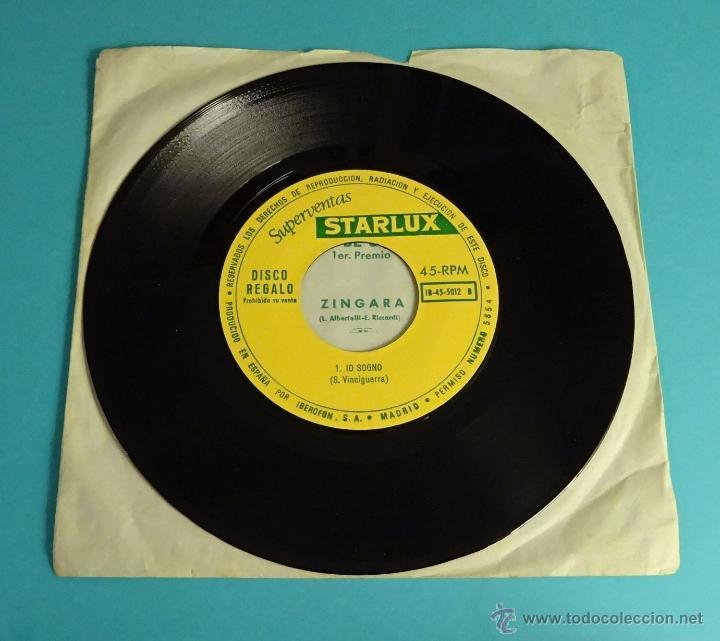 Discos de vinilo: XIX FESTIVAL DE SAN REMO 1969. SUPERVENTAS STARLUX - Foto 3 - 54505963