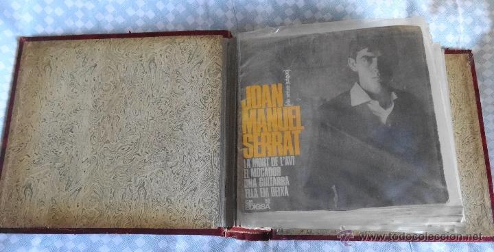 Discos de vinilo: JOAN MANUEL SERRAT LOTE DE 18 EP´S AÑOS 60 Y 70 - Foto 2 - 54508347