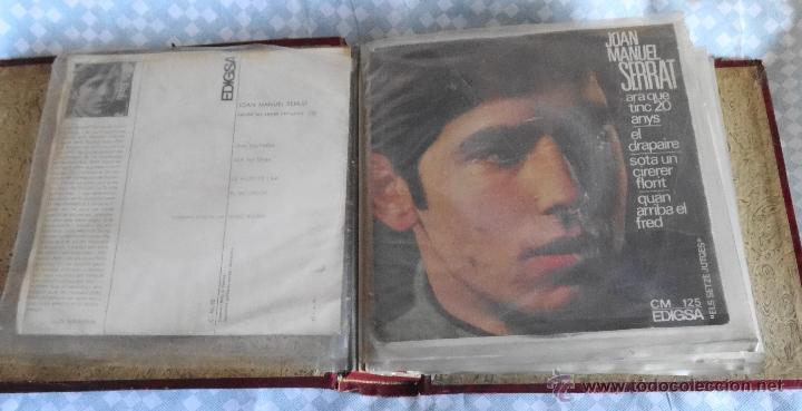 Discos de vinilo: JOAN MANUEL SERRAT LOTE DE 18 EP´S AÑOS 60 Y 70 - Foto 3 - 54508347