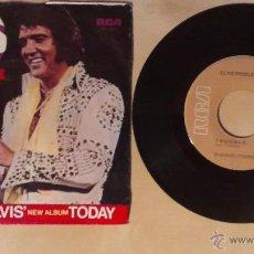 Discos de vinilo: ELVIS PRESLEY -T-R-O-U-B-L-E- SINGLE 7' 1975 RCA USA. Lote 54509331