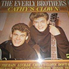 Discos de vinilo: THE EVERLY BROTHERS - CATHY´S CLOWN LP - EDICION INGLESA - PICKWICK RECORDS 1980 - MUY NUEVO -. Lote 54510031