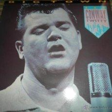 Discos de vinilo: CONWAY TWITTY - BIG TOWN LP - EDICION INGLESA - SHOWCASE RECORDS 1986 - MUY NUEVO (5).. Lote 54510652