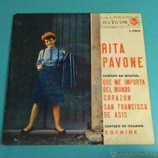 Discos de vinilo: RITA PAVONE. RCA VICTOR. Lote 54512194