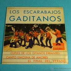 Discos de vinilo: LOS ESCARABAJOS GADITANOS. POLYDOR. Lote 54512840