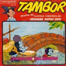 Discos de vinilo: DESFILE CUENTOS INFANTILES ARMANDO MATIAS GUIU TAMBOR EP CUCARACHIN Y MULTAGORDA. Lote 54513501