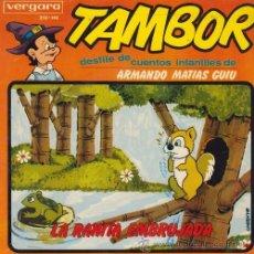 Discos de vinilo: DESFILE CUENTOS INFANTILES ARMANDO MATIAS GUIU TAMBOR EP LA RANITA EMBRUJADA. Lote 54513547