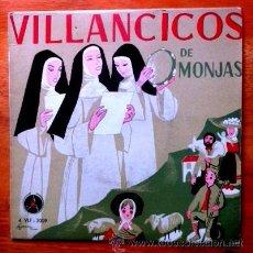 Discos de vinilo: VILLANCICOS DE MONJAS - TOLEDO,1959 - DISCOTECA POPULAR CATÓLICA PAX. Lote 54514808