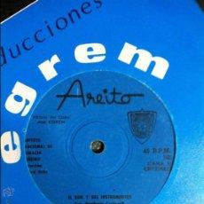 Discos de vinilo: SEPTETO NACIONAL DE IGNACIO PIÑEIRO. EL SON Y SUS INSTRUMENTOS + BURURU BARARA. AREITO Nº 7427. Lote 54517087