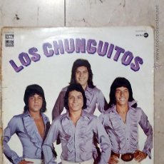 Discos de vinilo: LP LOS CHUNGUITOS - DAME VENENO - ME LLAMAN EL LOCO.... - EMI 1977.. Lote 54518564