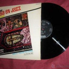 Discos de vinilo: PAUL HORN. LP MISA EN JAZZ. 1966 RCA SPAIN (ARREGLOS Y DIRECCION LALO SCHIFRIN). Lote 54519699