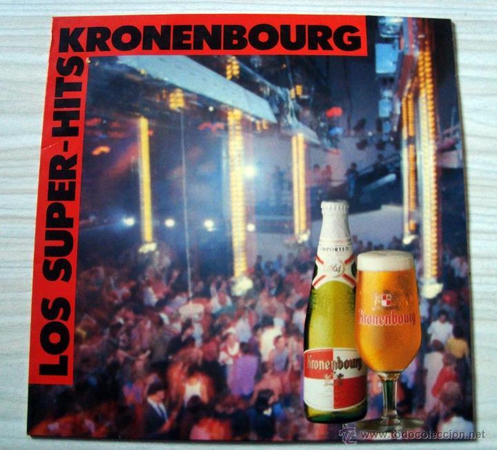 MUSICA, LP´S, LP DISCO VINILO - LOS SUPER HITS KRONENBOURG (Música - Discos - LP Vinilo - Disco y Dance)