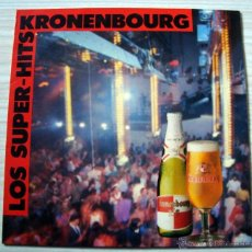 Discos de vinilo: MUSICA, LP´S, LP DISCO VINILO - LOS SUPER HITS KRONENBOURG. Lote 54520362
