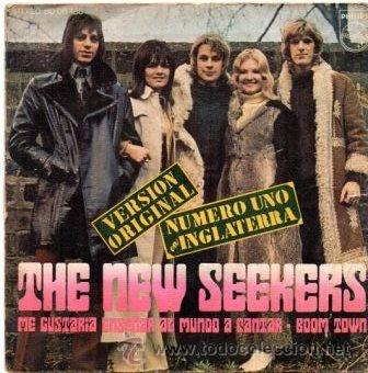 THE NEW SEEKERS- I'D LIKE TO TEACH THE WORLD TO SING + BOOM TOWN - SG 1972 (Música - Discos - Singles Vinilo - Pop - Rock - Extranjero de los 70)