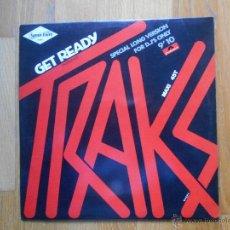 Discos de vinilo: TRAKS, GET READY, . Lote 54522772