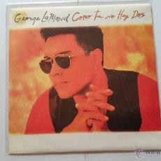 Disques de vinyle: GEORGE LAMOND - COMO TU NO HAY DOS (PROMO 1993). Lote 54527552