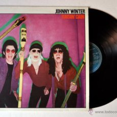 Discos de vinilo: LP. VINILO: JOHNNY WINTER: RAISIN´CAIN. AÑO 1980. Lote 54531287