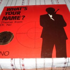 Discos de vinilo: WHAT'S YOUR NAME? THEME FROM DR. NO - ZINNO. Lote 54537035