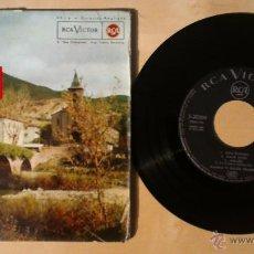 Discos de vinilo: V. OSCOZ YÑARREA -GAU ILUNIAN- EP 7' 1962 RCA SPANISH. Lote 54541938