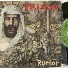 Discos de vinilo: TRIANA / RUMOR / SINGLE 45 RPM / MOVIEPLAY. Lote 54542470