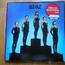 Discos de vinilo: OLE OLE , LP. Lote 54546513