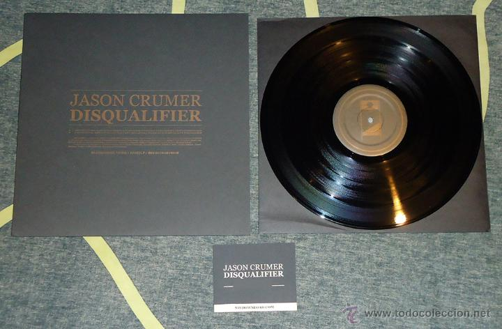 JASON CRUMER - DISQUALIFIER - LP (Música - Discos - LP Vinilo - Electrónica, Avantgarde y Experimental)