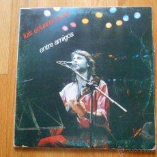 Discos de vinilo: LUIS EDUARDO AUTE ENTRE AMIGOS, DOBLE LP. Lote 54548076