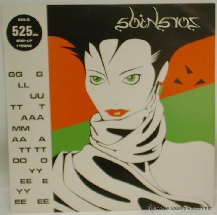 GLUTAMATO YEYE - ZORAIDA - MINI LP 1982 DRO - DRO 009 EDICIÓN ESPAÑOLA ORIGINAL EX/EX (Música - Discos - LP Vinilo - Grupos Españoles de los 70 y 80)