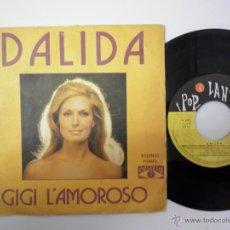 Discos de vinilo: DALIDA - GIGI L'AMOROSO 1974. Lote 54550421