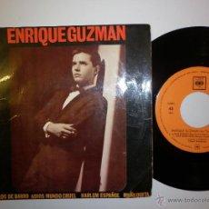 Discos de vinilo: ENRIQUE GUZMAN CON LOS SALVAJES 1962 4 TEMAS. Lote 288341728