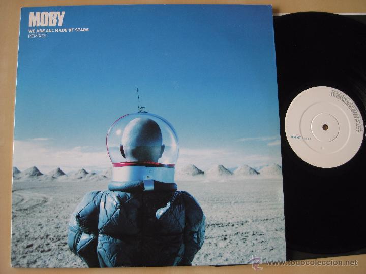 MOBY: WE ARE ALL MADE OF STARS, REMIXES MX / DJ TIESTO, TIMO MAAS, BOB SINCLAIR (Música - Discos de Vinilo - EPs - Techno, Trance y House)
